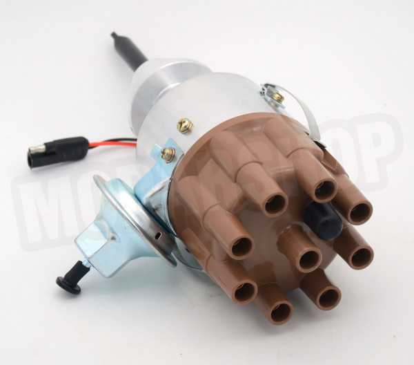 Distributor SBM A-Engine Electronic with Vacuum Advance Billet