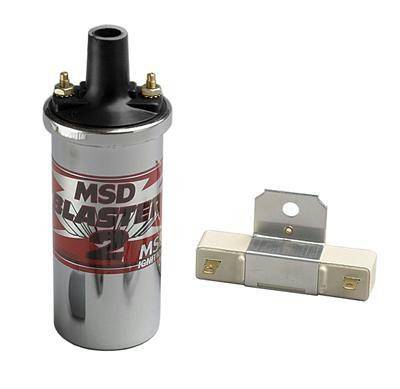 Ignition Coil MSD Blaster 2 chrome
