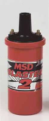 Ignition Coil MSD Blaster 2 red