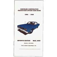 Buch - Option Code 66-68 Chrysler