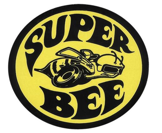 Decal ″Superbee″, window (not Scat Pack Bee)
