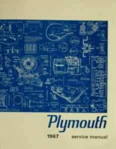 Service Manual 67 Plymouth
