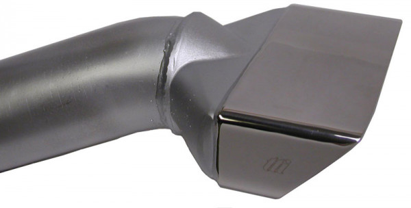 Exhaust Tips 2,50″ E-Body 70-74 Cuda, stainless steel