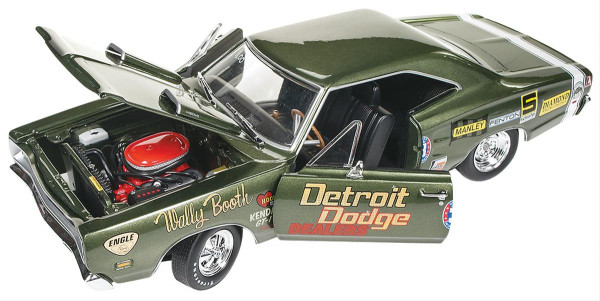 Modellauto 69 Dodge Super Bee Wally Booth