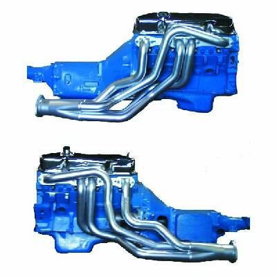 Headers A-/B-/E-Body BBM 1 -3/4″ ceramic coated out- & inside
