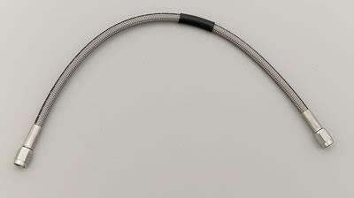 Brake Hose Braided Stainless Steel Front with 15″ length -3AN
