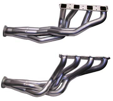 Headers B-/E-Body Hemi 2 1/4″ polished ceramic coated out- & inside
