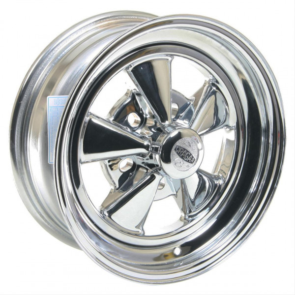 Wheel, Cragar, S/S Super Sport, 15″ x 7″, 5 x 4.5/4.75/5 in. Bolt Circle, 4.125 in. Backspace