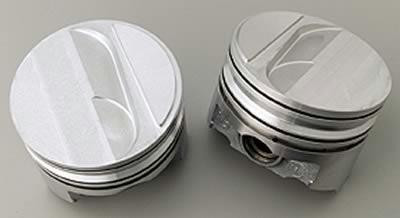 Piston Set 440 step std hypereutectic