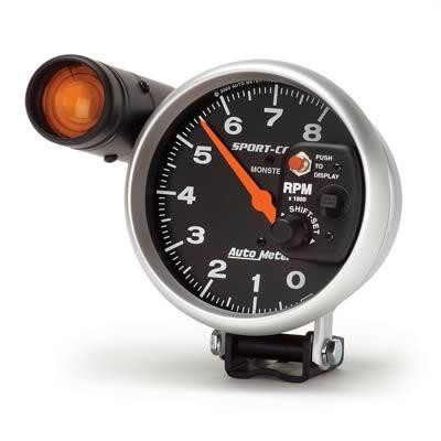 Gauge, Tachometer Sport-Comp Series 5″ electrical