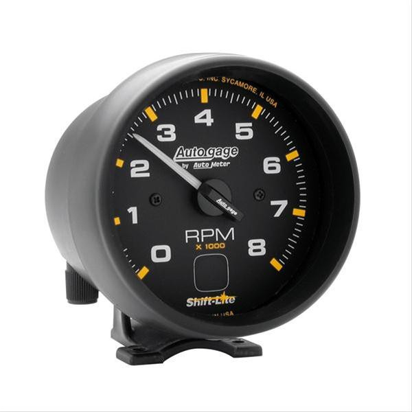 Gauge, Tachometer Autogage Series 3-3/4″ 0-8000 RPM electrical