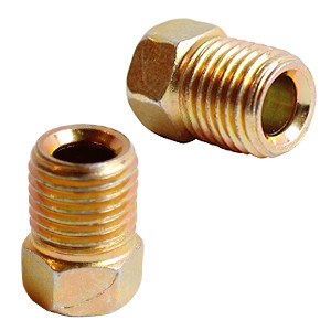 Brake Fitting 1/4″ Line to 7/16″-24 inverted flare